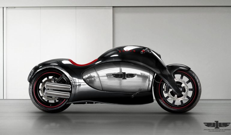 Jakusa Designs: A Gallery Of Motorcycle Perfection In Concept Form