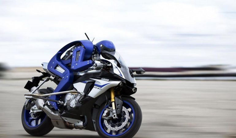 Man VS Machine: Can A Humanoid On An R1M Out Pace A MotoGP Legend?