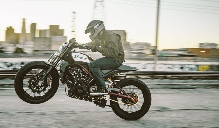 Scout FTR1200 Custom By Indian