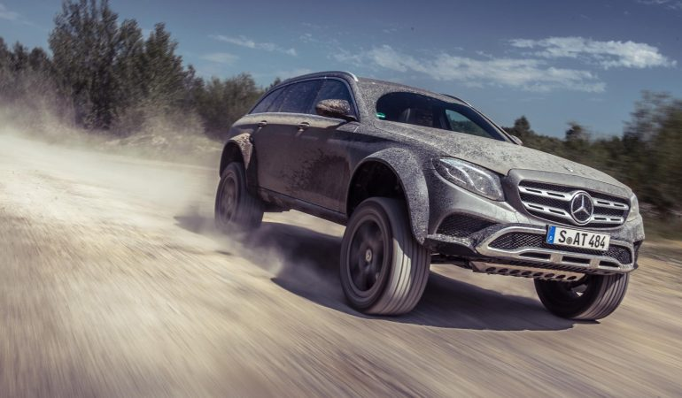 Mercedes-Benz E400 All-Terrain 4×4 Squared